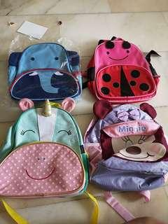 5 Kids Bag for sale all for $10.00