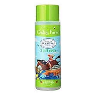 Childs Farm 3 In 1 Swim Strawberry & Organic Mint Shampoo Conditioner Body Wash