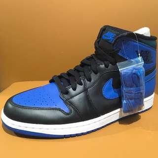 """全新 Nike Air Jordan 1 I Retro High OG 2013 Black/Varisty Royal-Black """"Royal"""" 555088 085 US Size 10 NMD 藍黑 米高佐敦 籃球鞋 波鞋 跑鞋 運動鞋 喬丹"""