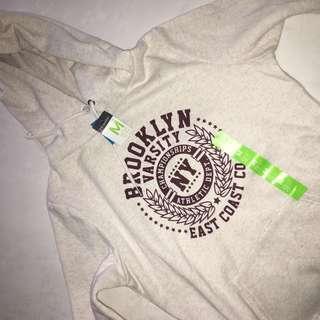 BNWT White/Beige Hoodie