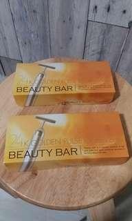 100% new Beauty Bar 24k黃金棒
