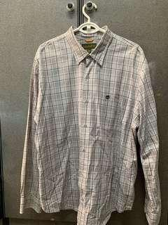 Timberland Grey Checkered Shirt Size XXL (Mens)
