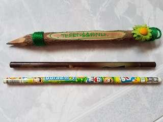 Assorted Trio of Pencils. All brand new.