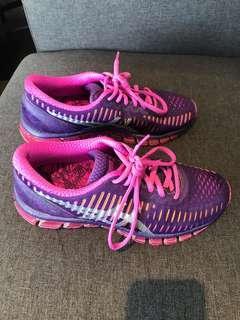 ASIC Gel-Quantum 360 purple and pink runner