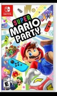 Rent super mario party