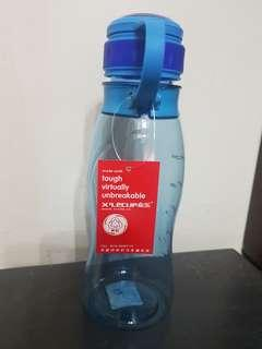 water Bottle with measuring indicator