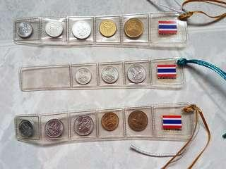 Thailand Coins Bookmarks