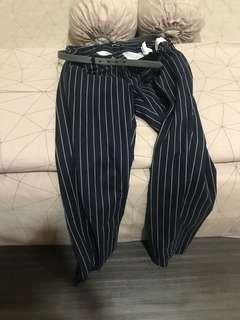 Stradivarious stripes pants