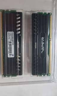 Patriot 8GBx2 DDR3 RAM 1866MHZ