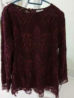 Lace Top by Locka