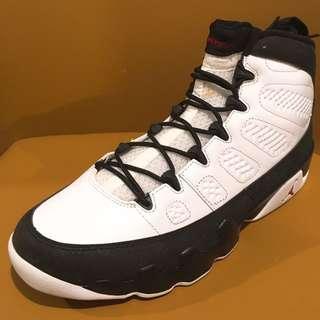 全新 Nike Air Jordan 9 IX Retro 2010 White/Varsity Red-Black 302370 102 US Size 9.5 NMD 黑白 米高佐敦 籃球鞋 波鞋 跑鞋 運動鞋 喬丹
