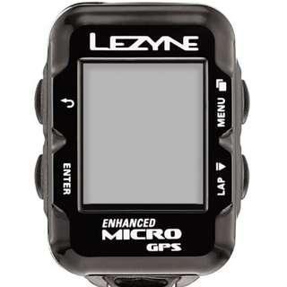 Lezyne Enhanced Micro GPS Bike Computer with cadence sensor