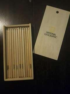 national geographic colour pencils