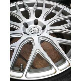 "20"" DPE Custom Monoblock Forged Wheels for BMW"