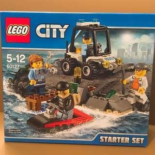 Lego City Prison Island 60127 Starter Set 全新樂高積木城市系列