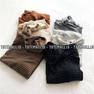 #NEW High Turtleneck Striped Shirts