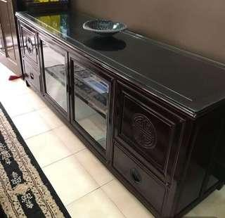 Pre-Loved Rosewood TV Console for sale..!!!