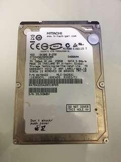 Hitachi 250GB Hard Disk *cannot detect*