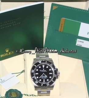 ***SOLD*** BNIB Unworn Overseas Set ♛ Rolex Submariner ND 114060