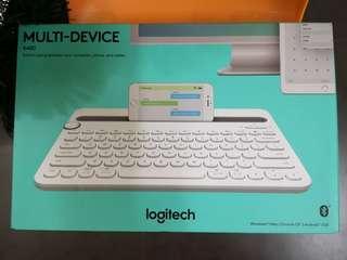 (全場最平,全新)Logitech k480 Bluetooth keybroad