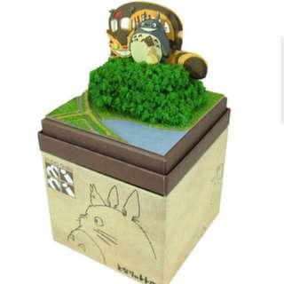 Studio Ghibli DIY Miniature Kit: My Neighbor Totoro ~ Search For Mei (3D Papercraft)