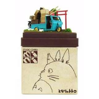Studio Ghibli DIY Miniature Kit: My Neighbor Totoro ~ Moving Kusakabe's House (3D Papercraft)