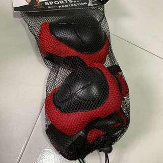 BN knees and elbows guard for bicycle