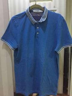 Top man blue shirt