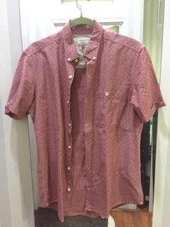 Next shirt pink polkadot
