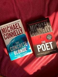 NY Bestseller! Michael Connelly - The concrete Blonde / The poet