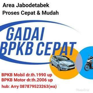 Pinjaman dana tunai dengan jaminan BPKB kendaraan