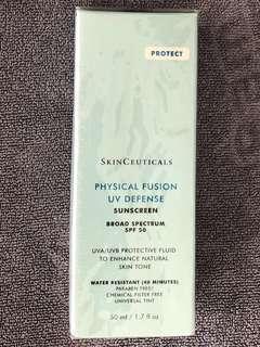 SkinCeuticals Physical Fusion UV Defense  Sunscreen SPF 50 (50ml)