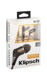 Limited edition R6i klipsch earphone