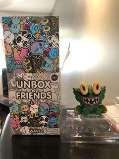 Unbox and friends - Crab Kaiju