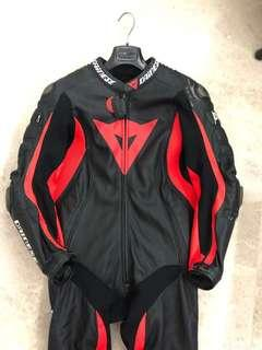 Dainese D-Air Racing Misano One Piece Airbag Suit (size:52)