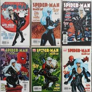 Spider-Man & The Black Cat : The Evil That Men Do Complete Series