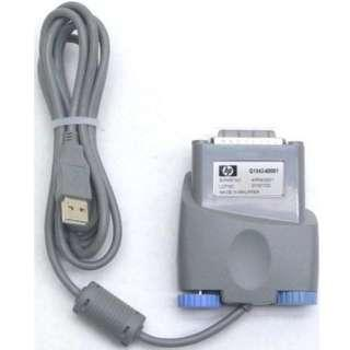 HP Q1342-60001 Apfm-0001 Parallel to USB Cable Adapter
