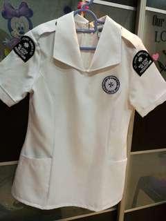St John's Uniform (full set: blouse, pants, T-shirt)