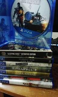 Ps4 Game 1 GAME RM50 ONLY!