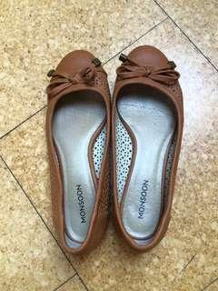 Monsoon brown doll shoes