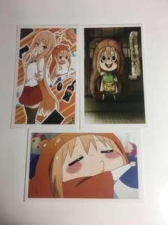 Himouto Umaru-Chan postcards