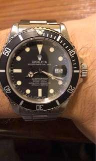Rolex 16800 粉面 靚藥膏 全對色 灰圈灰面 淨錶