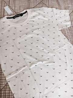 Kaos Basic T-Shirt Bird