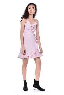 🚚 TEM Leedya Maroon Dress