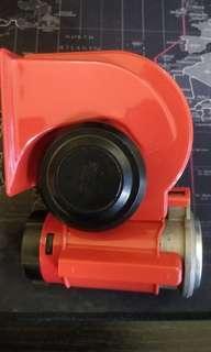 Wotefusi Air Horn Trumpet 139dB Car Truck For Snail Nautilus Standard 12V Red Twin Auto [QPL38] #jan50 #cnyga