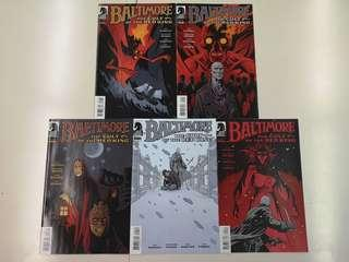 Baltimore: Cult of the Red King (2015) Comics Set
