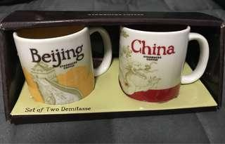 starbucks demitasse / City mug Beijng/China
