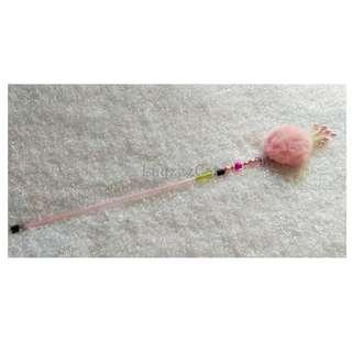 [Ready Stock] TW107 Furball with Pearls Cat Teaser Wand