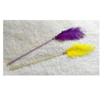 [Ready Stock] TW108 Feathers Cat Teaser Wand