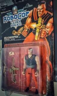 vintage kenner robocop villain penjahat head hunter vandal moc mint on card